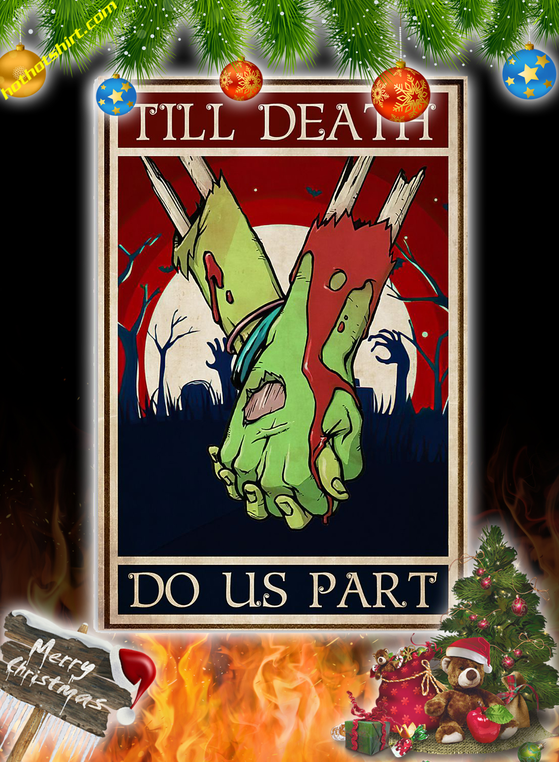 Zoombie till death do us part poster