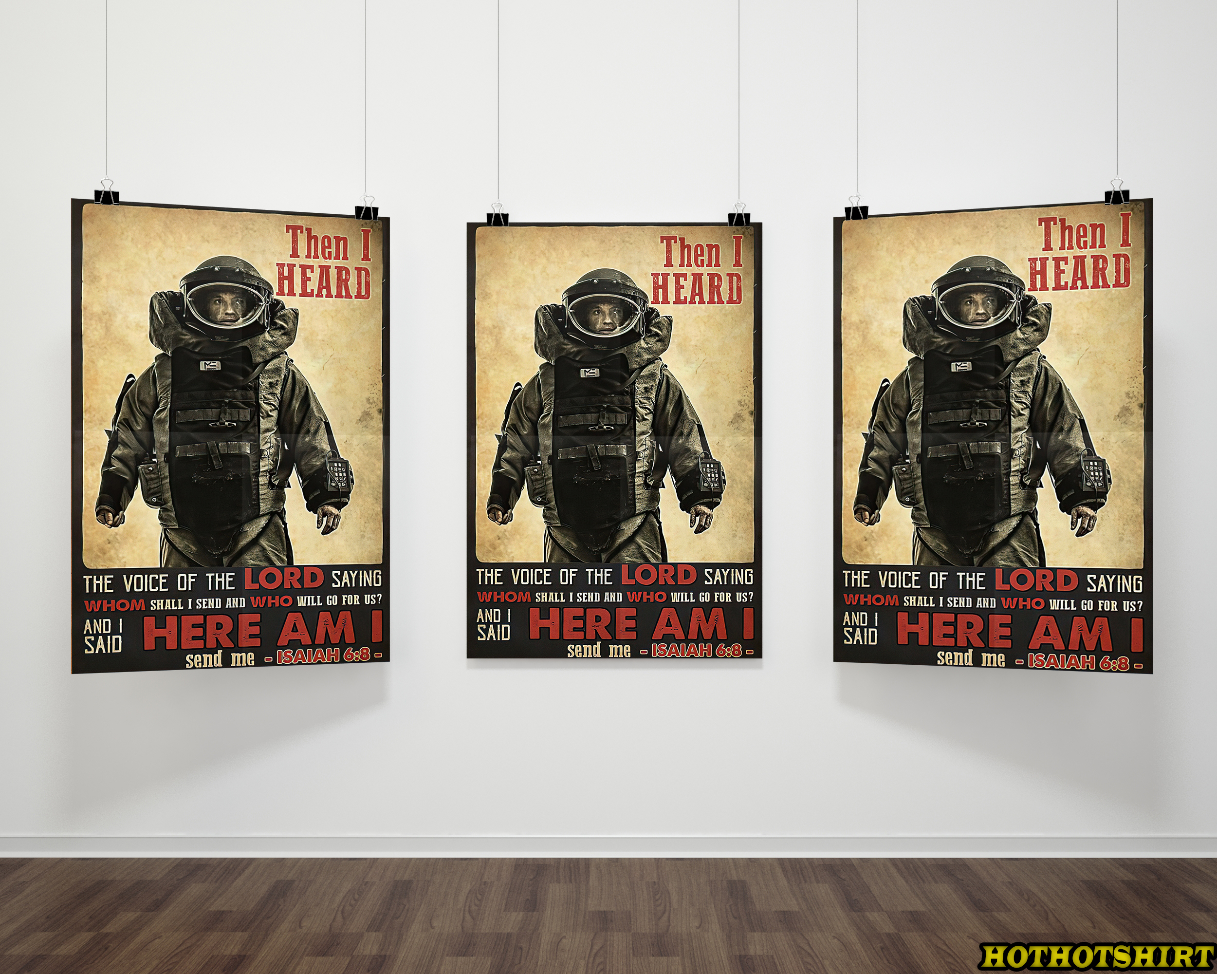 Astronaut Then I Heard The Voice Of The Lord Saying Poster 1
