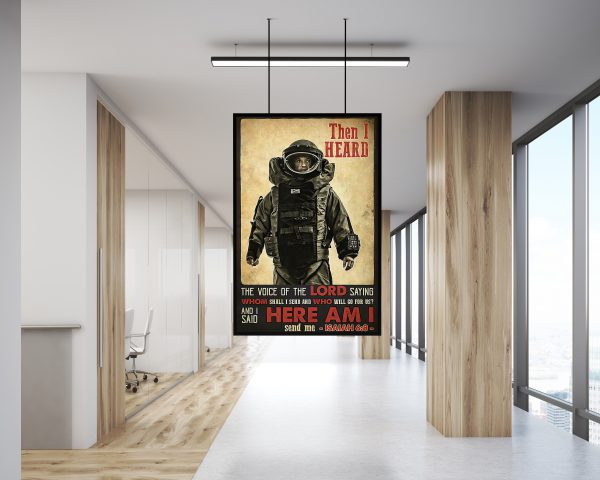 Astronaut Then I Heard The Voice Of The Lord Saying Poster 2