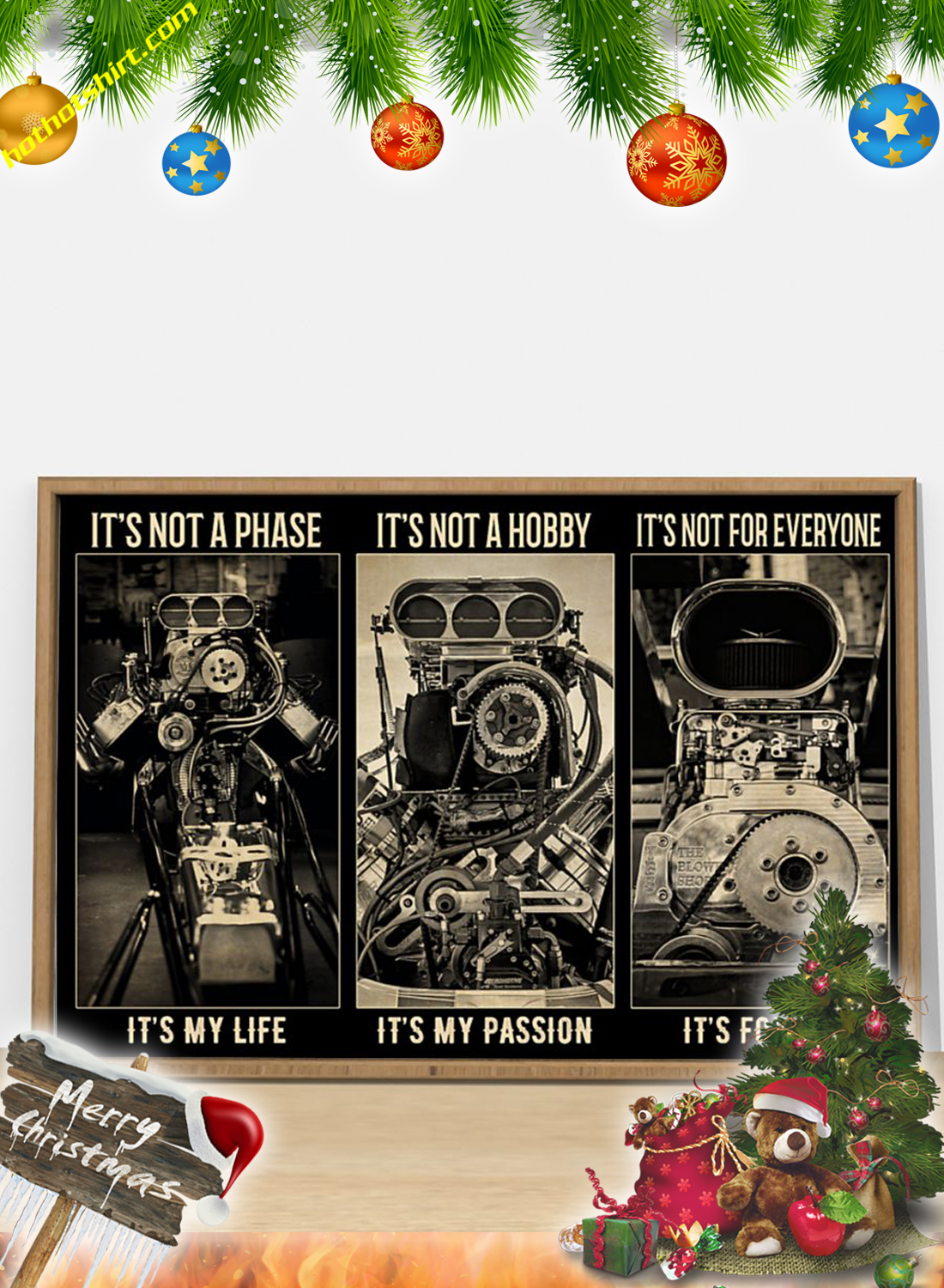 BW engine It's not a phase poster 2