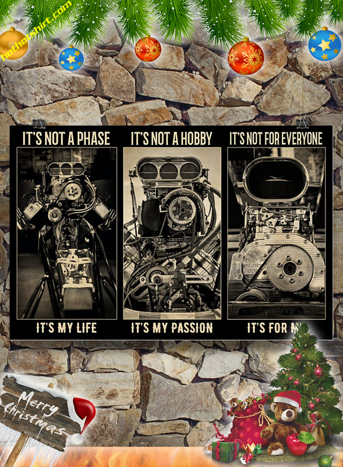 BW engine It's not a phase poster 3