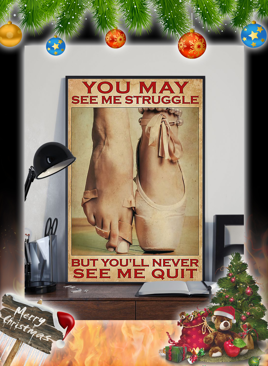 Ballet You may see me struggle poster 3