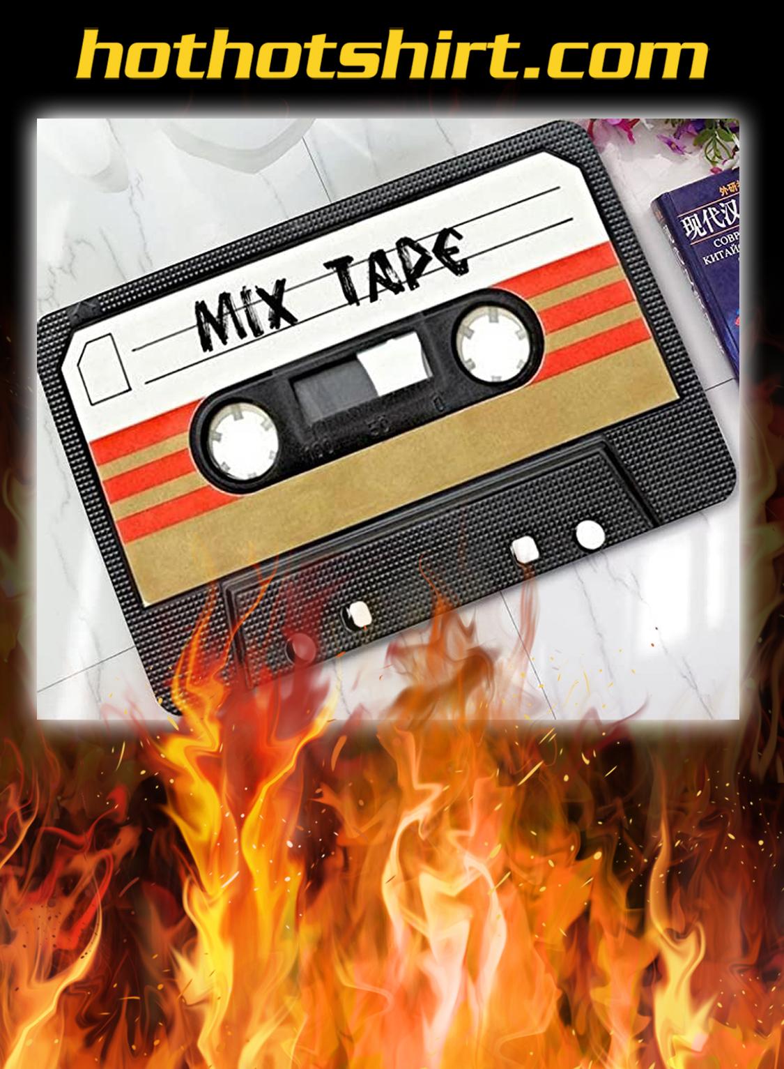 Cassette mix tape doormat- pic 1