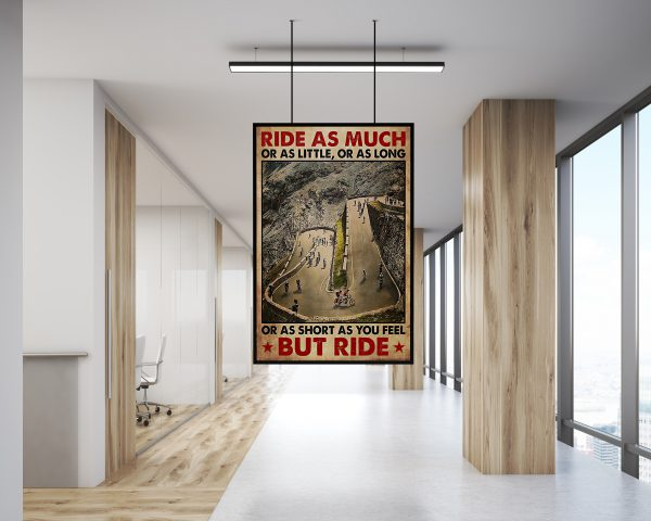 Cycling Ride as much or as little or as long or as short as you feel but ride poster 2