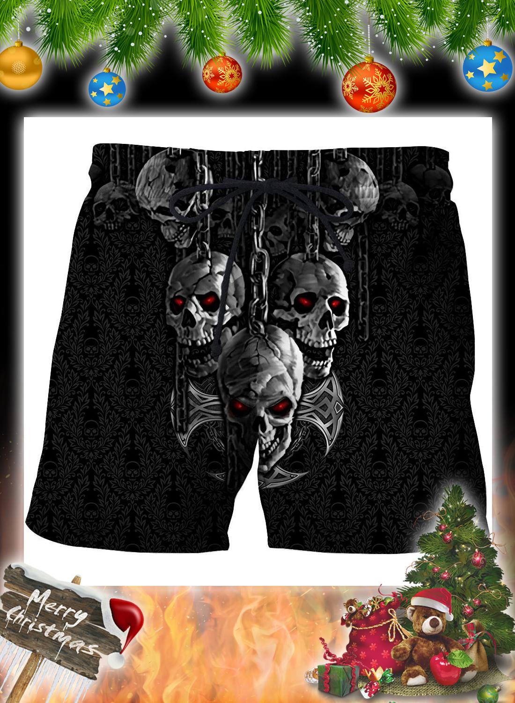 Dark Art Skull 3d Hoodie and Shirt 6