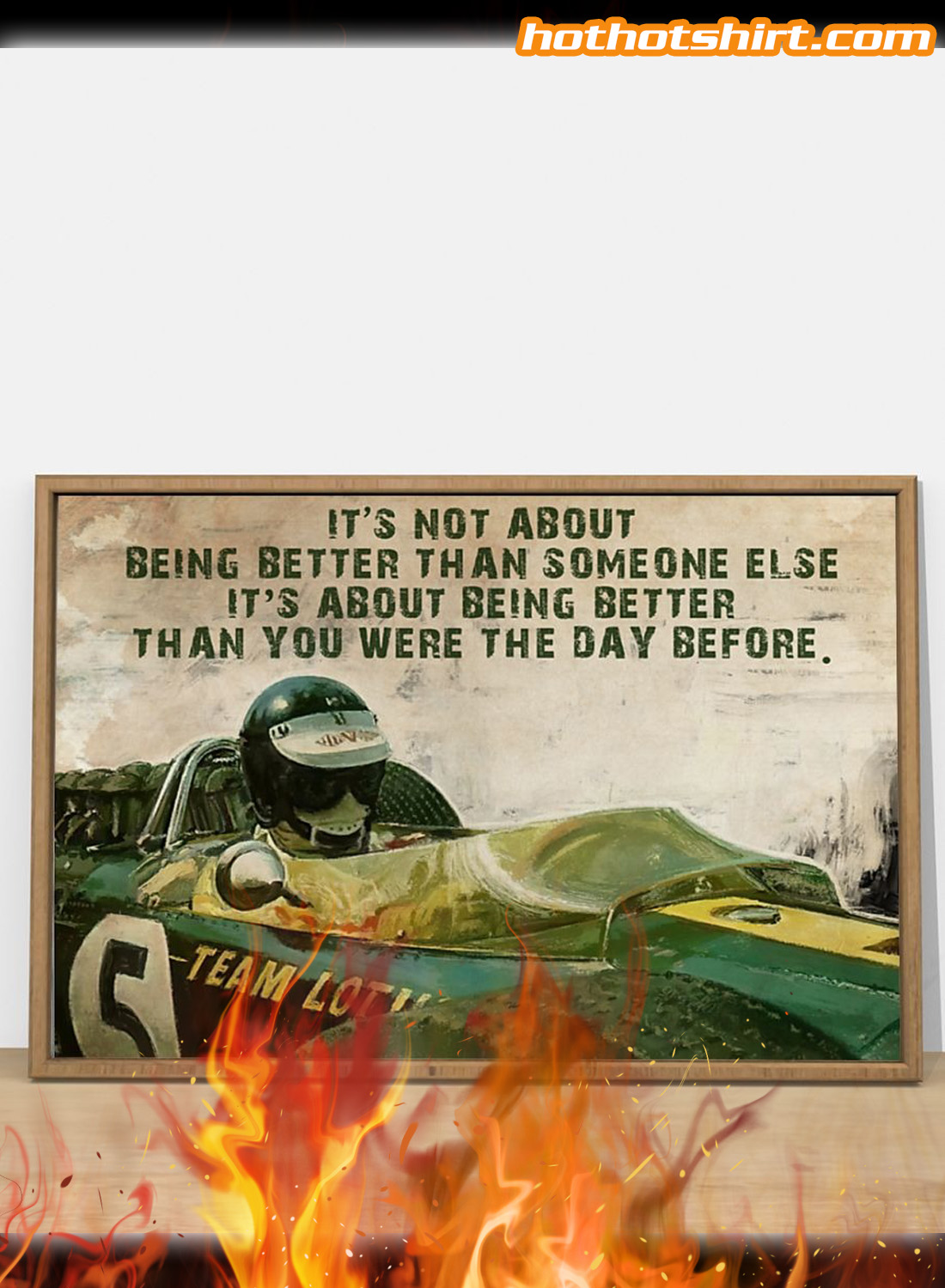 Forza Motorsport Racer It's not about being better than someone else poster 1