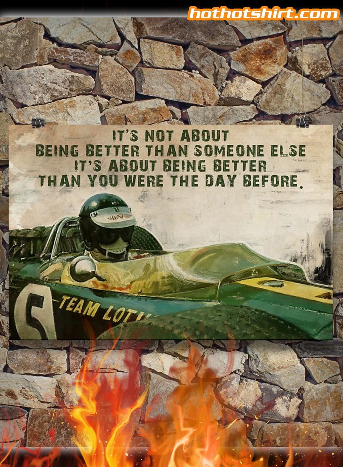 Forza Motorsport Racer It's not about being better than someone else poster 2