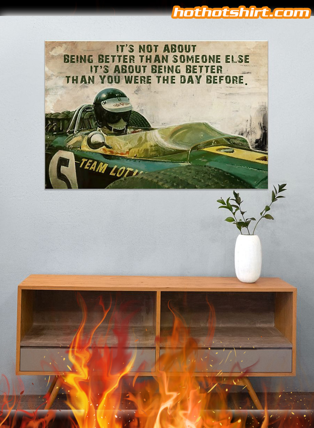 Forza Motorsport Racer It's not about being better than someone else poster 3