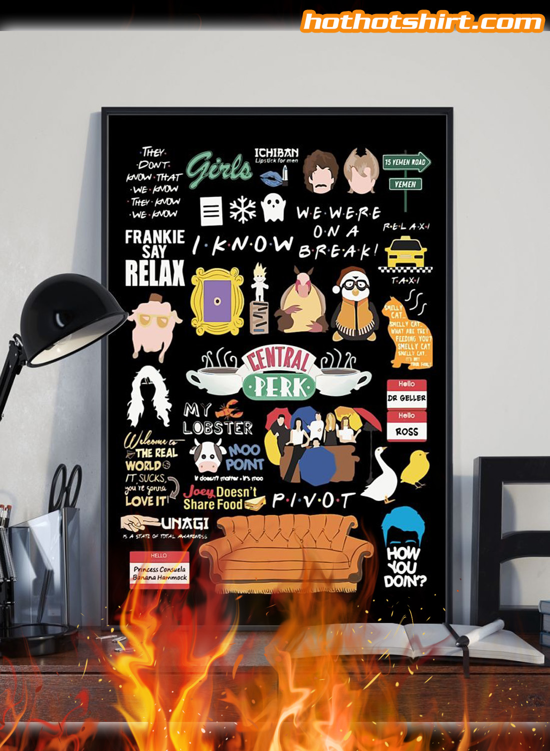 Friends quotes poster 1