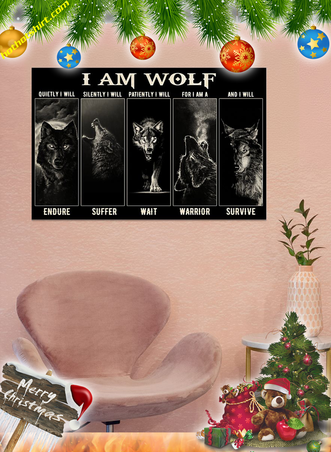 I am wolf poster 2