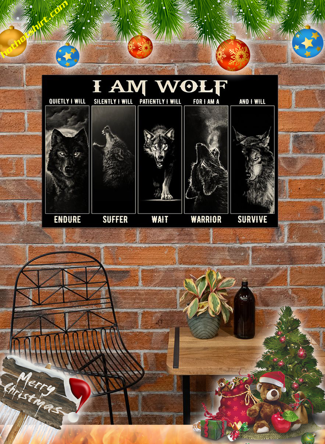 I am wolf poster 3