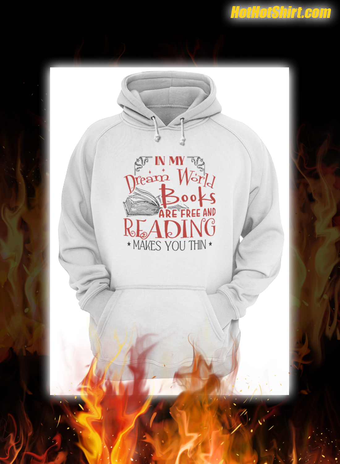 In My Dream World Books Are Free And Reading Makes You Thin Mug 3