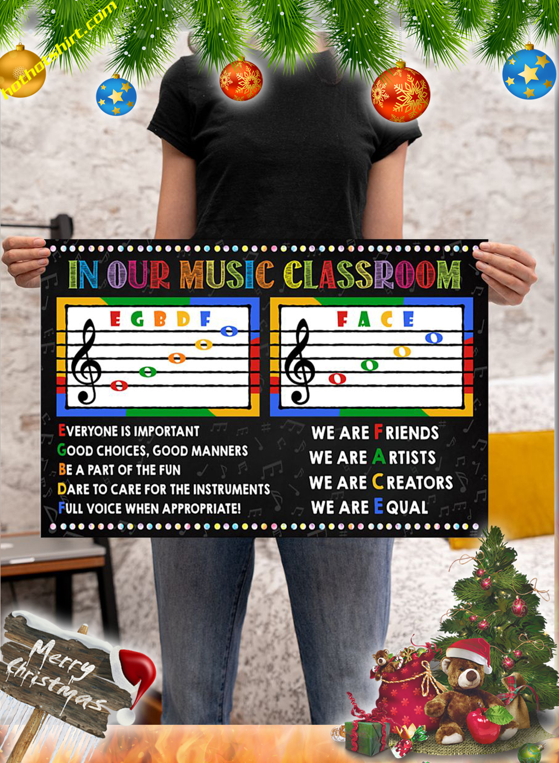 In our music classroom poster 2