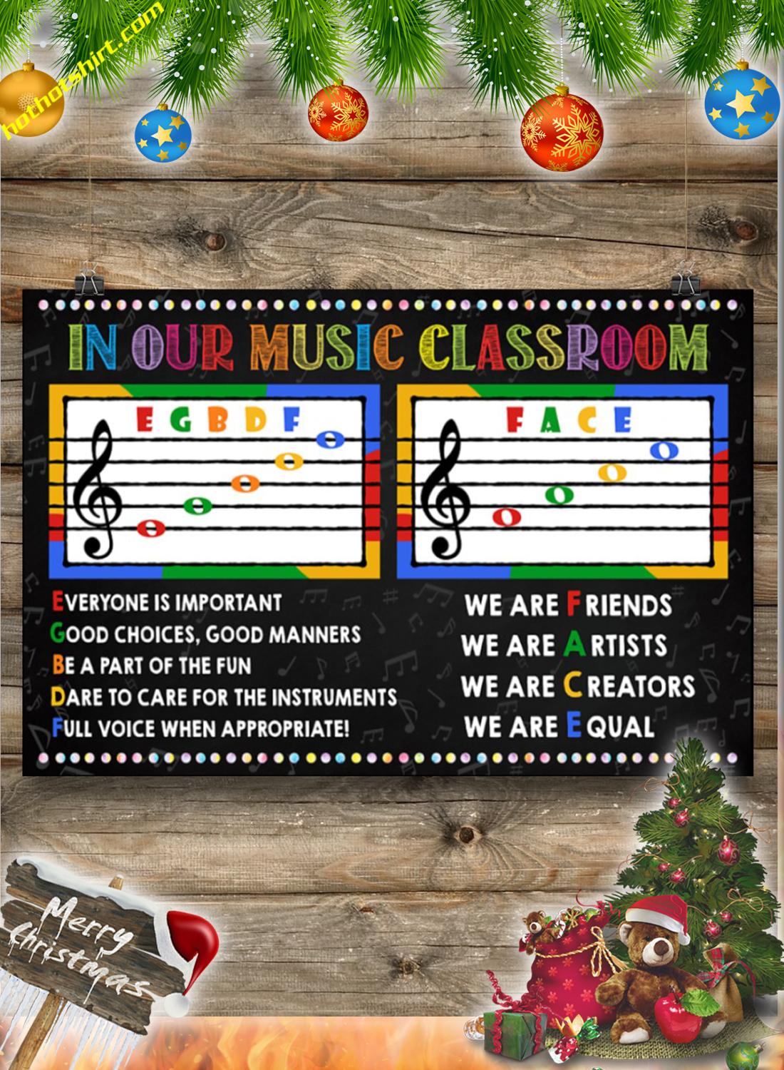 In our music classroom poster 3