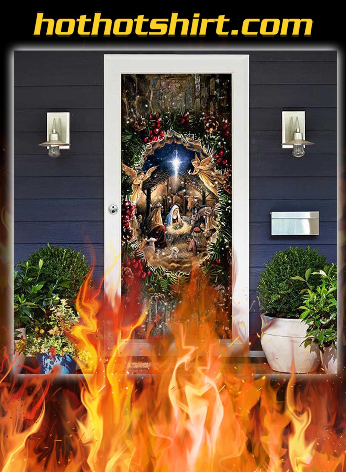 Jesus Is Born Door Cover- pic 1