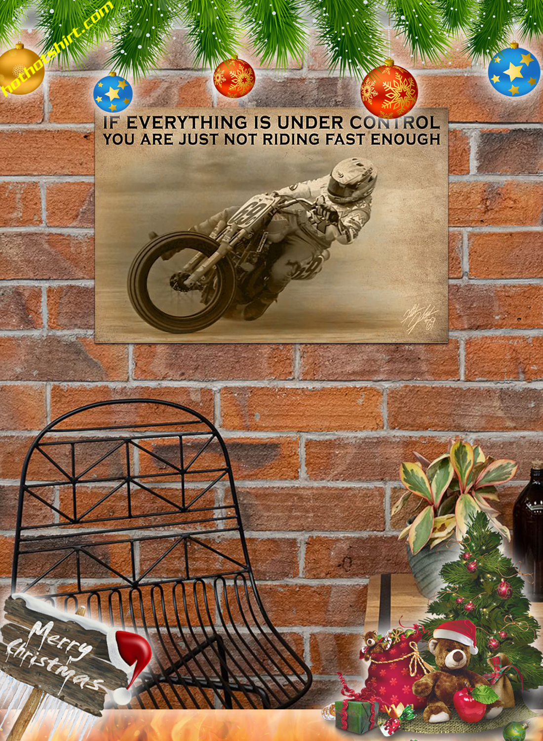 Moter Racing If everything is under control poster 2
