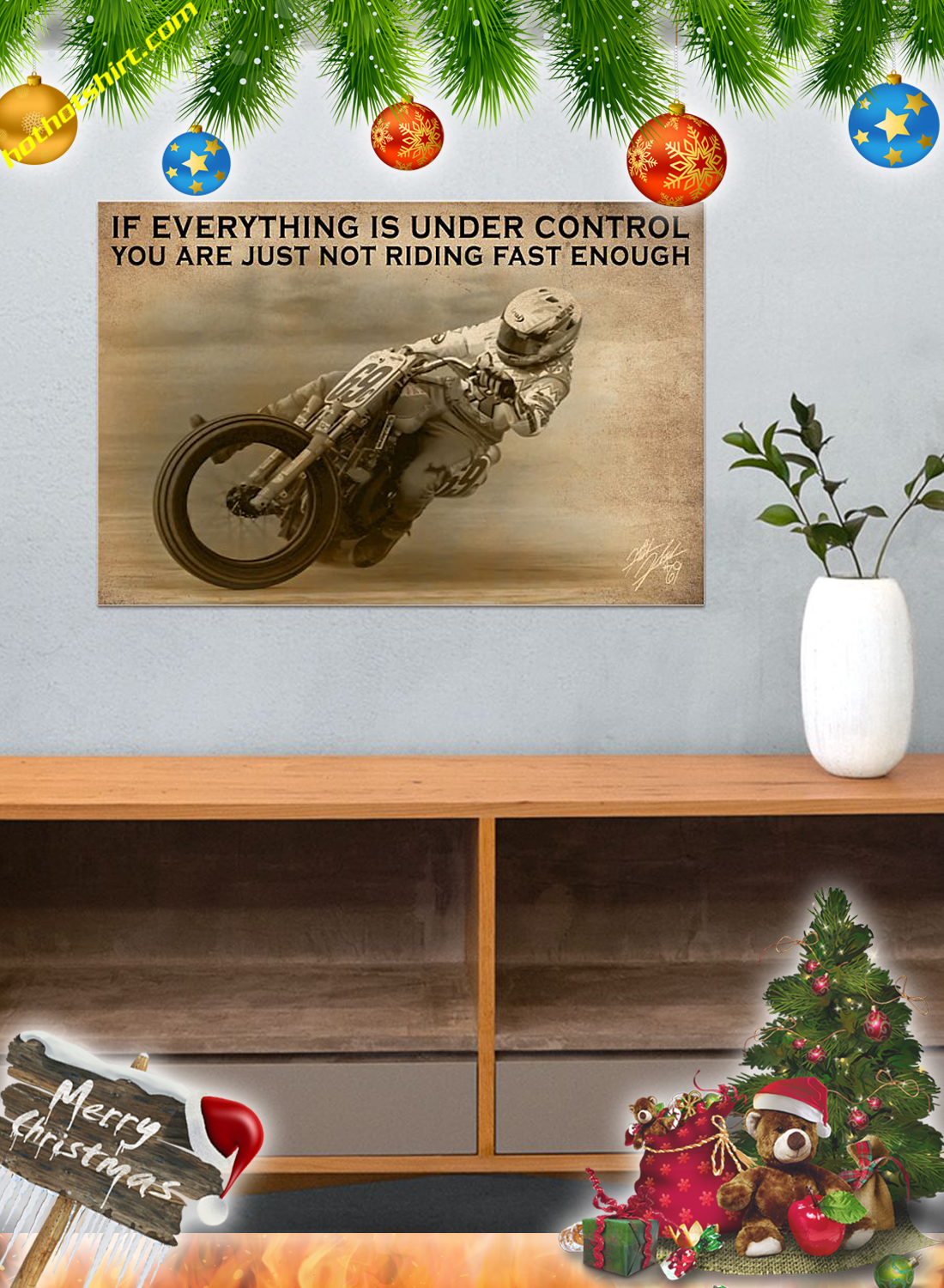 Moter Racing If everything is under control poster 3