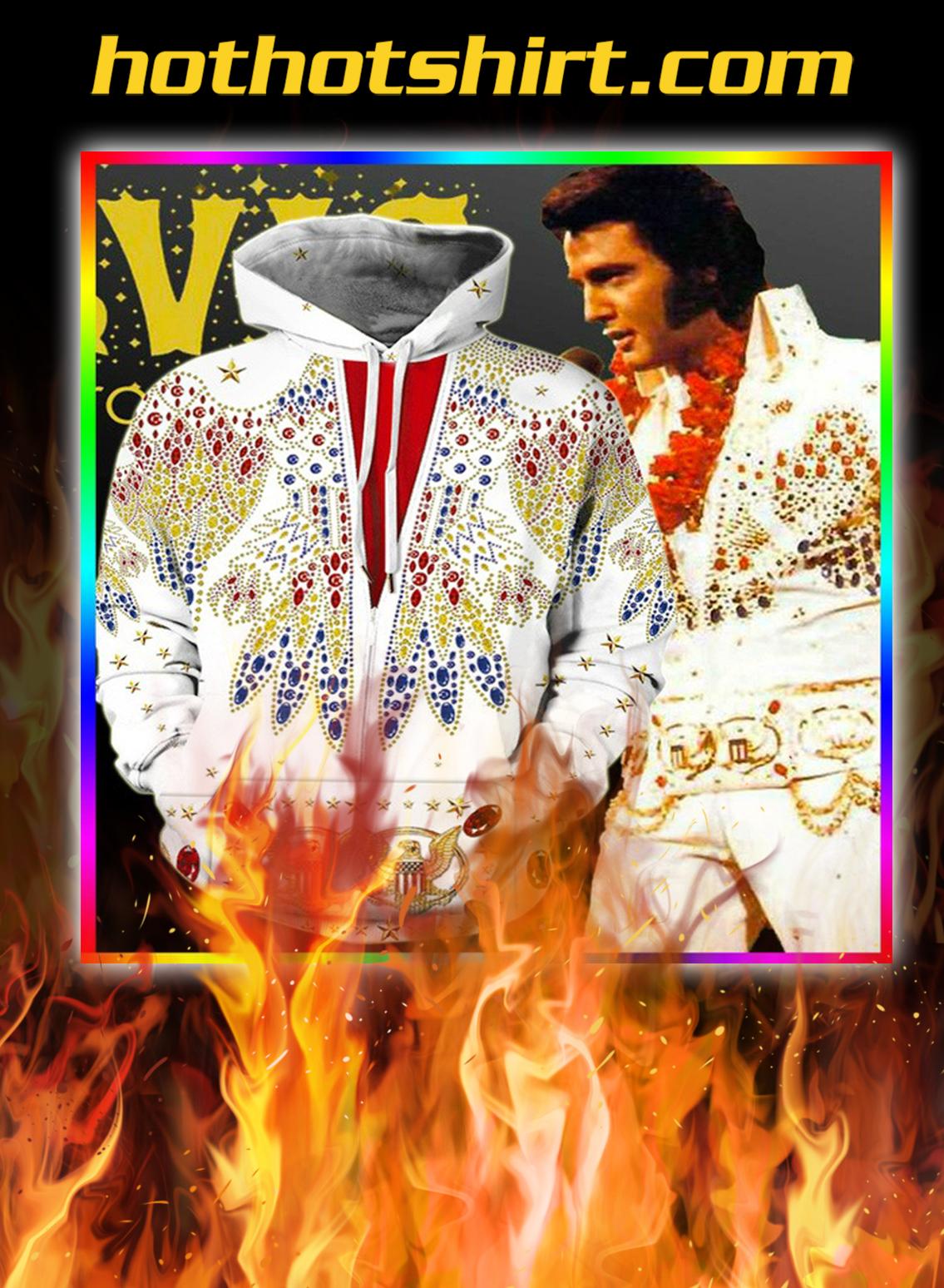 Music Star Elvis Presley Printed 3d Hoodie- pic 2