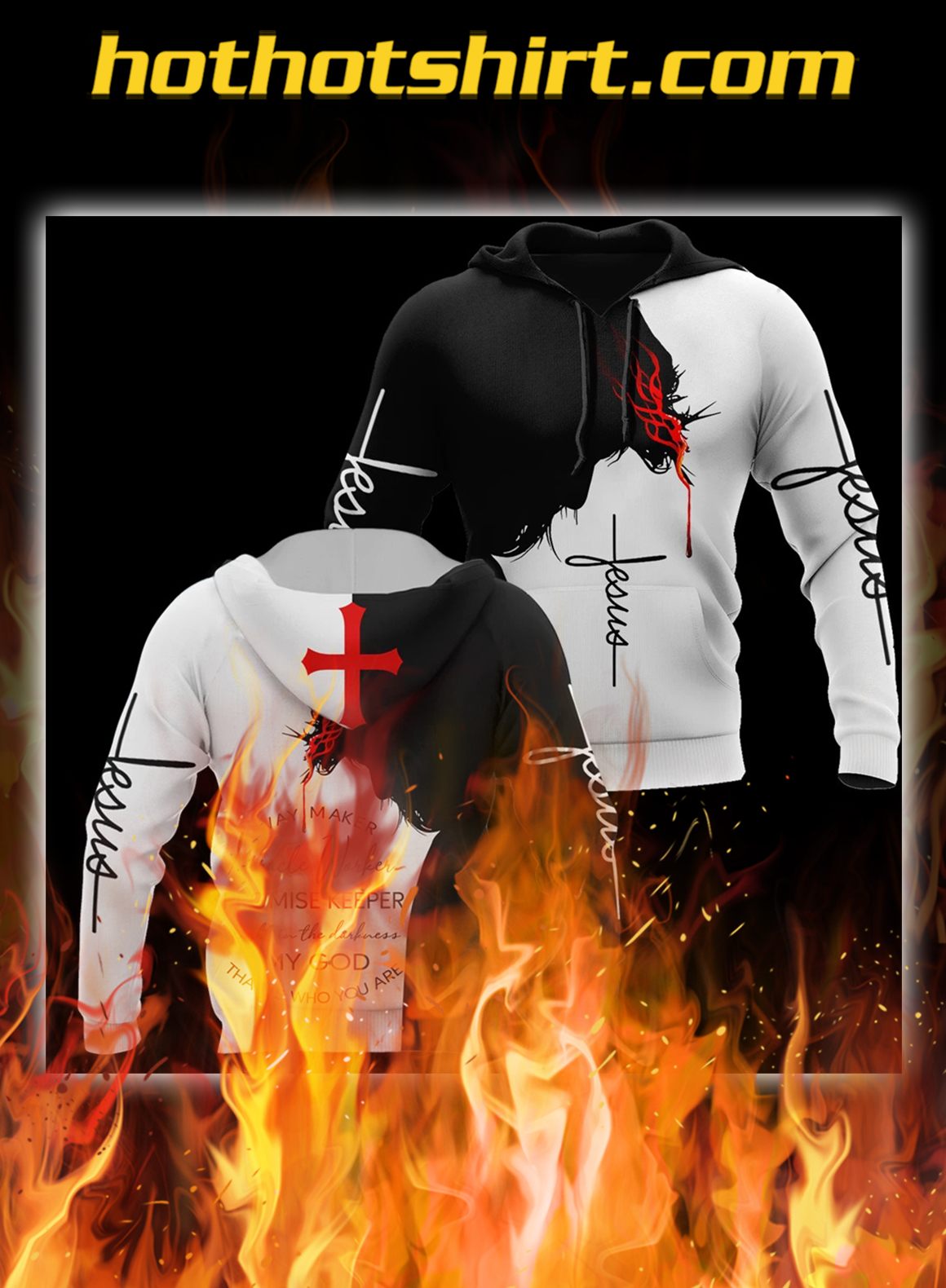 My God That Is Who You Are 3d Hoodie- pic 1