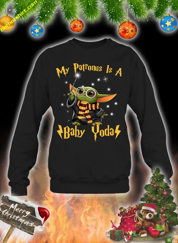 My patronus is a baby yoda shirt 3