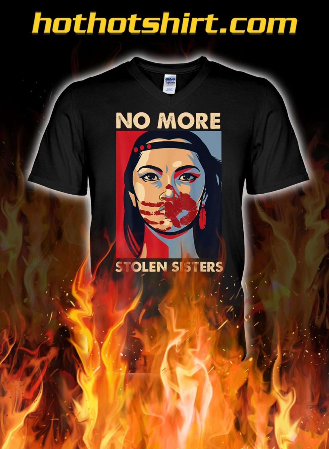 No more stolen sisters v-neck