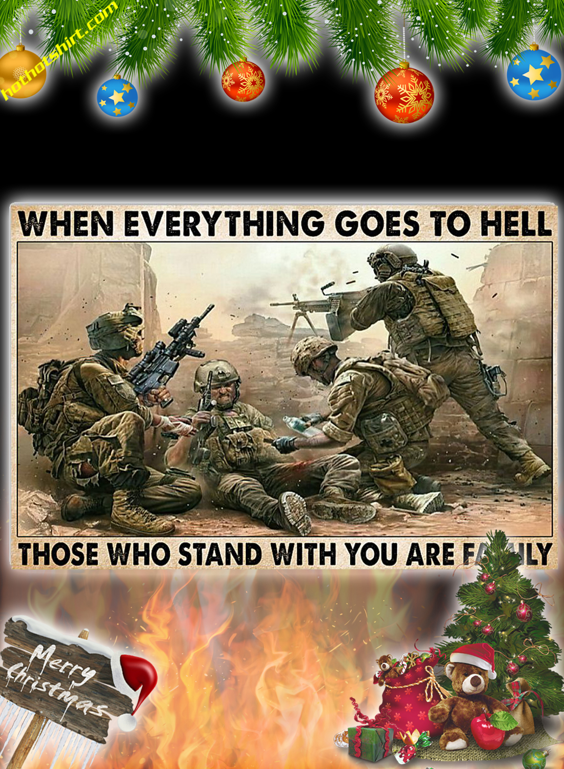 POSTER VETERANS When everything goes to hell 3