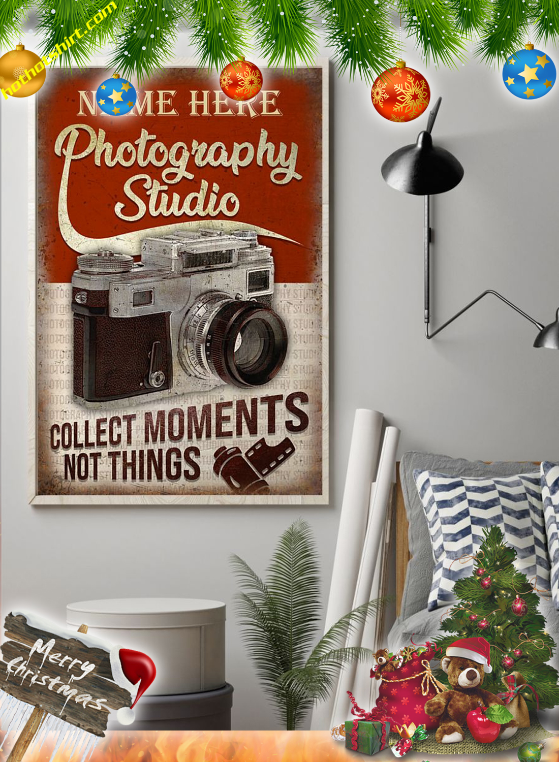 Personalized Photography Studio Poster 1