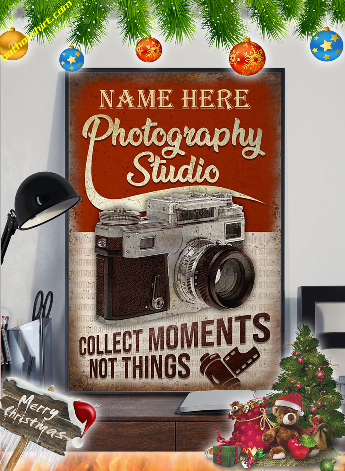 Personalized Photography Studio Poster 2