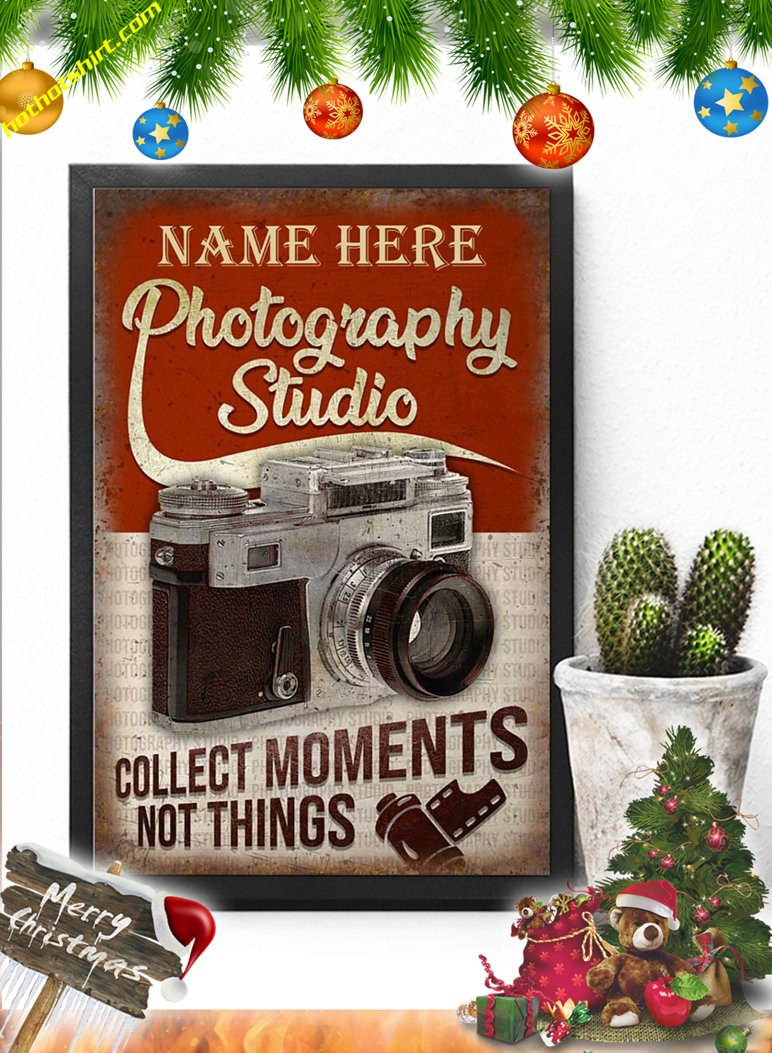 Personalized Photography Studio Poster 3