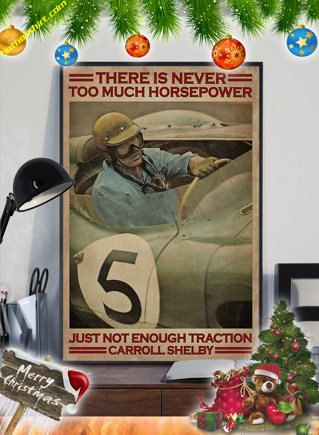 Racing There is never too much horsepower poster 2