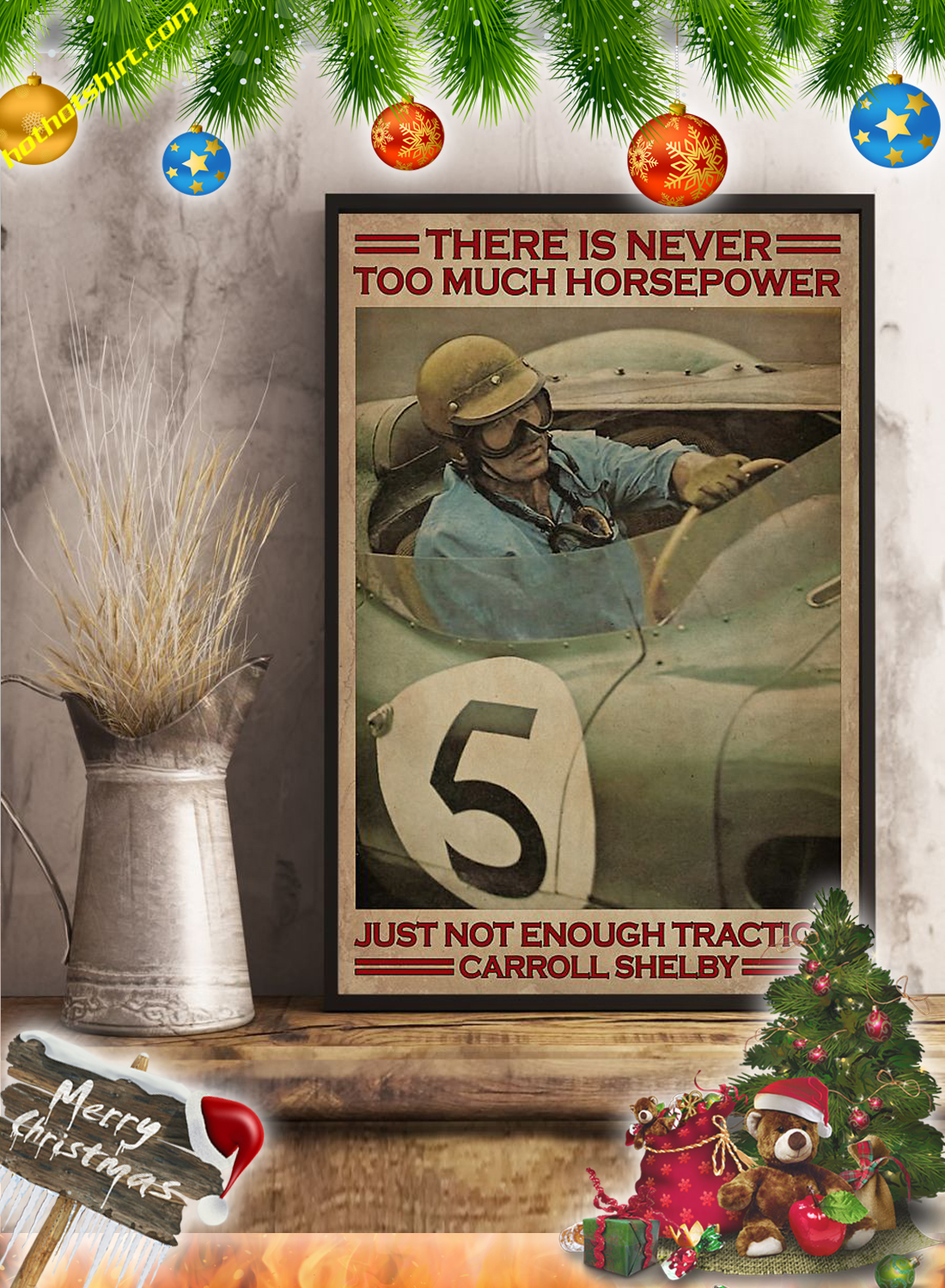 Racing There is never too much horsepower poster 3