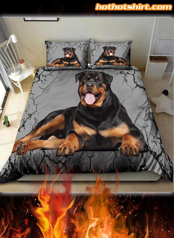 Rottweiler Lover Bedding Set 1