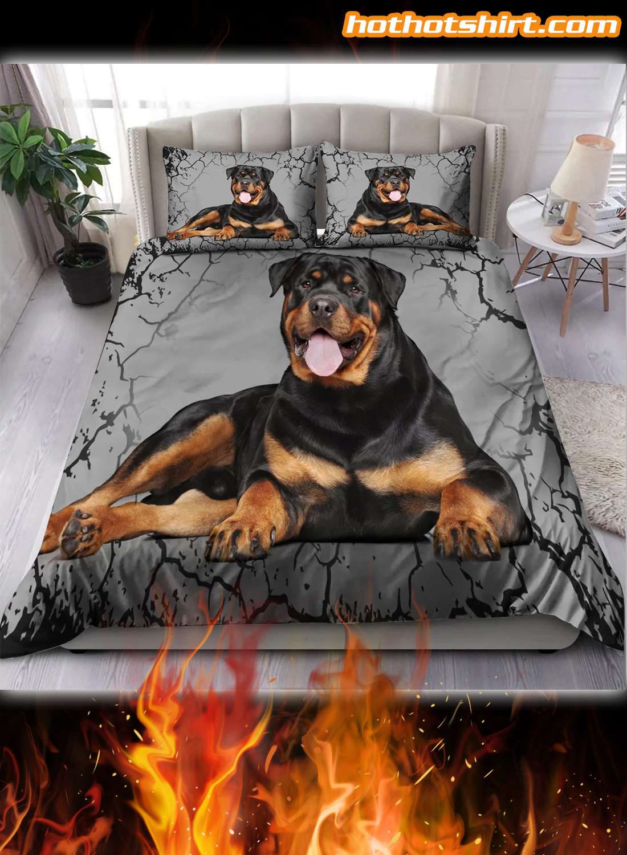 Rottweiler Lover Bedding Set