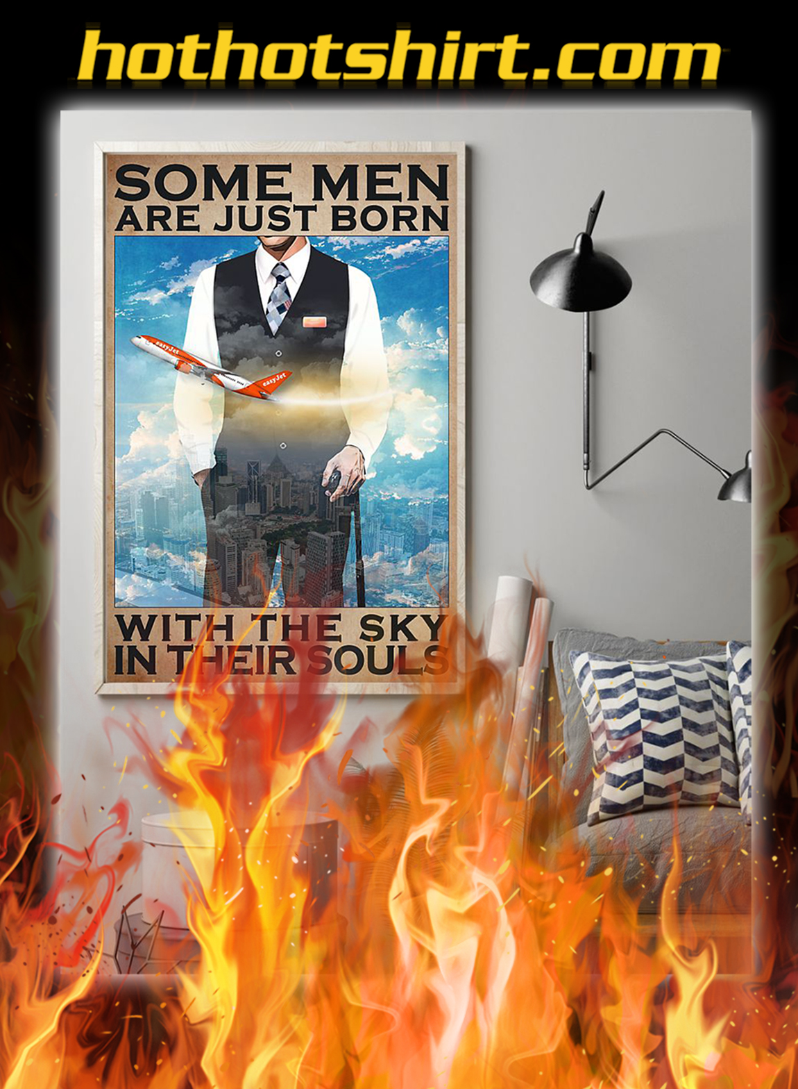 Some men are just born with the sky in their souls poster- A1