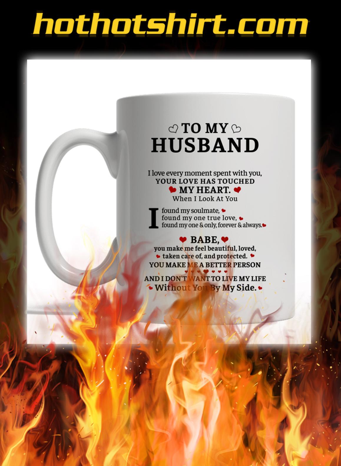 To my husband custom name mug - pic 1