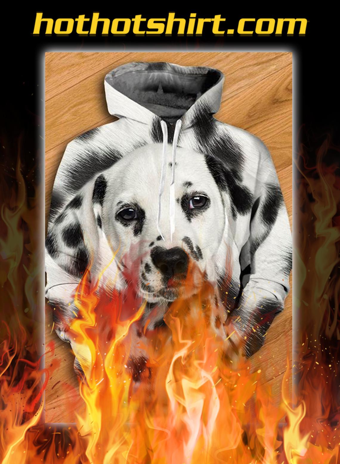 Unisex 3D Graphic Hoodies Animals Dogs Dalmatian - pic 1