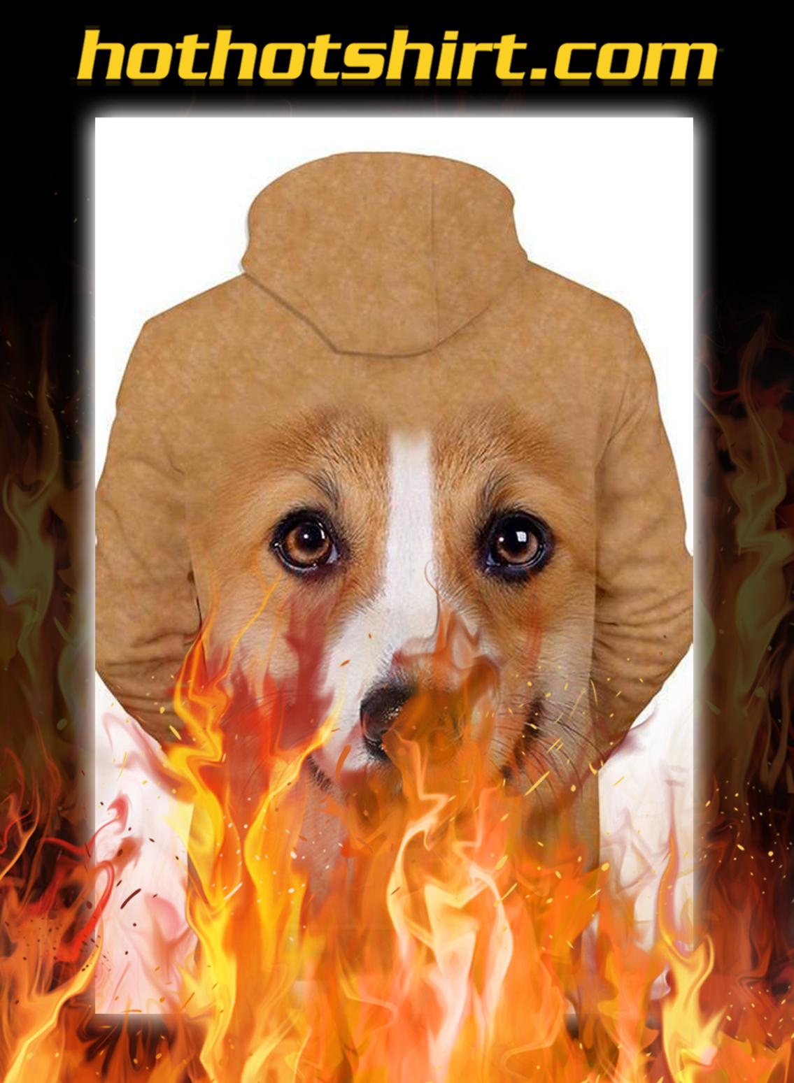 Unisex 3D Graphic Hoodies Animals Dogs Pembroke Welsh Corgi- pic 1