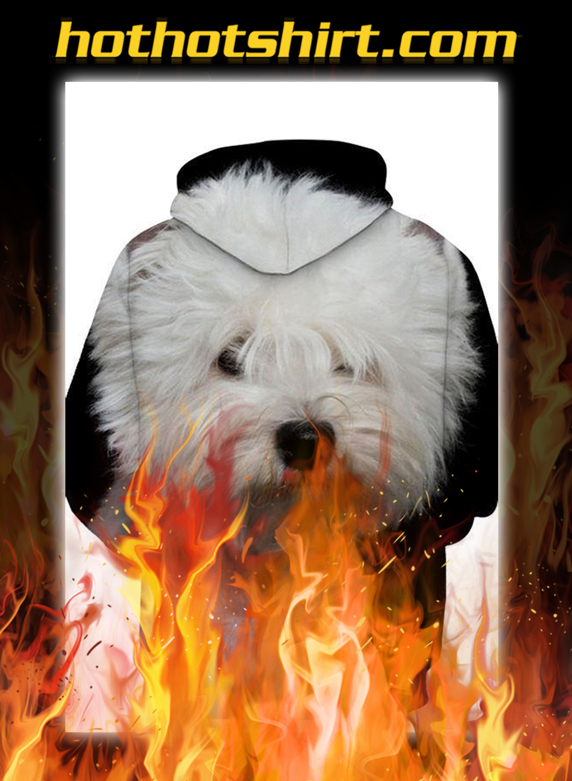 Unisex 3D Graphic Hoodies Animals Dogs West Highland White Terrier- pic 1