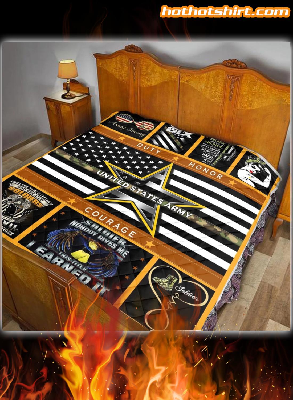 United States Amry Quilt Blanket 2