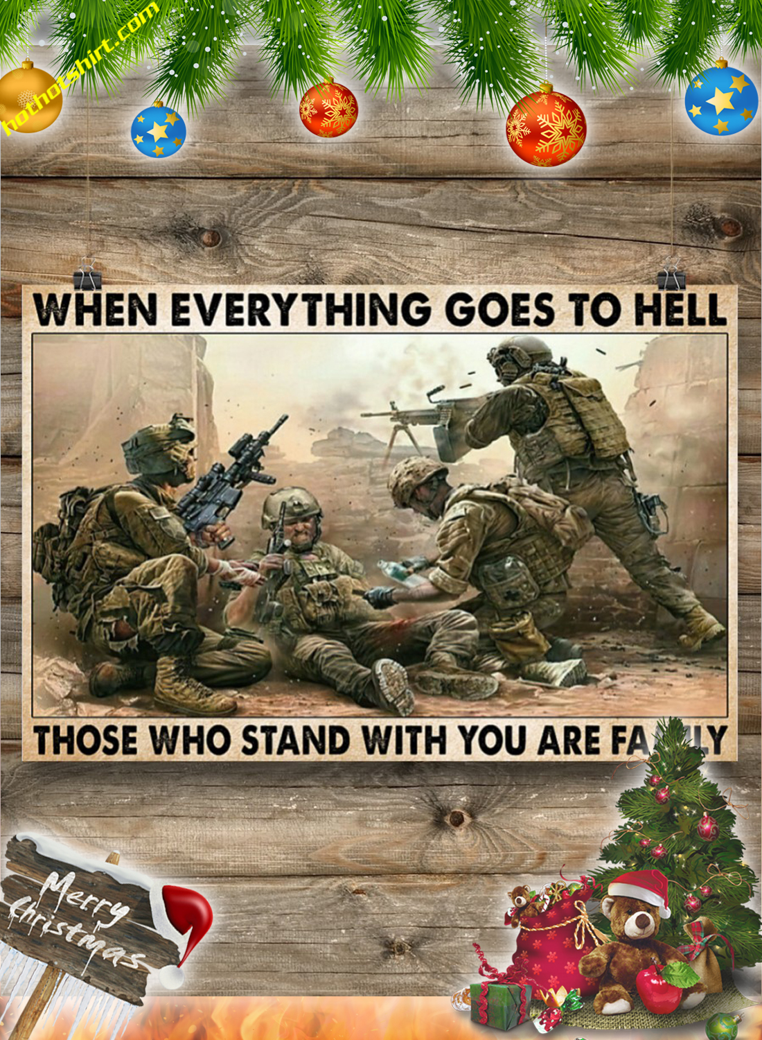 Veteran When everything goes to hell poster 3