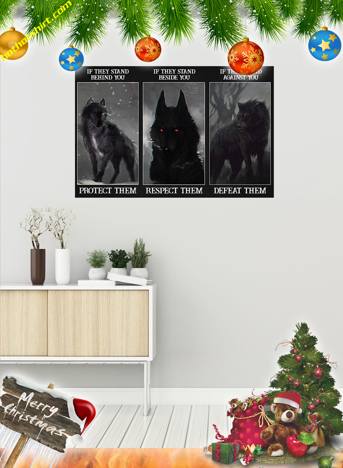 Wolf protect them poster 1