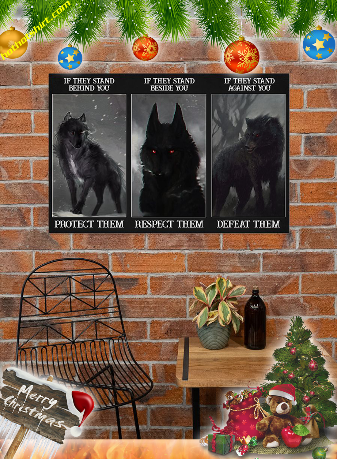 Wolf protect them poster 3