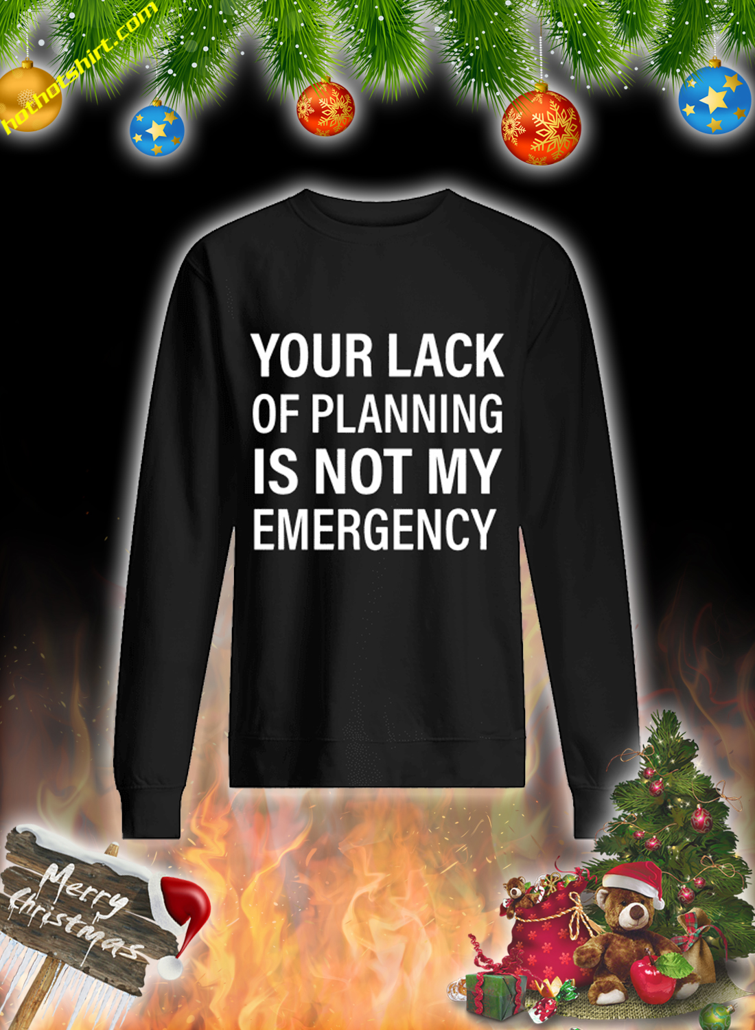 Your lack of planning is not my emergency mug 1