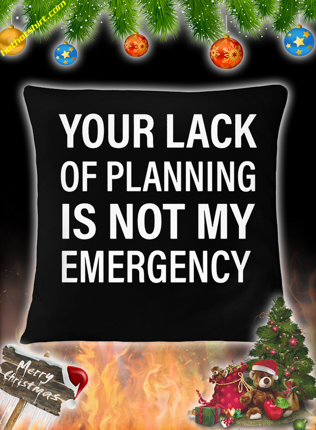 Your lack of planning is not my emergency mug 3