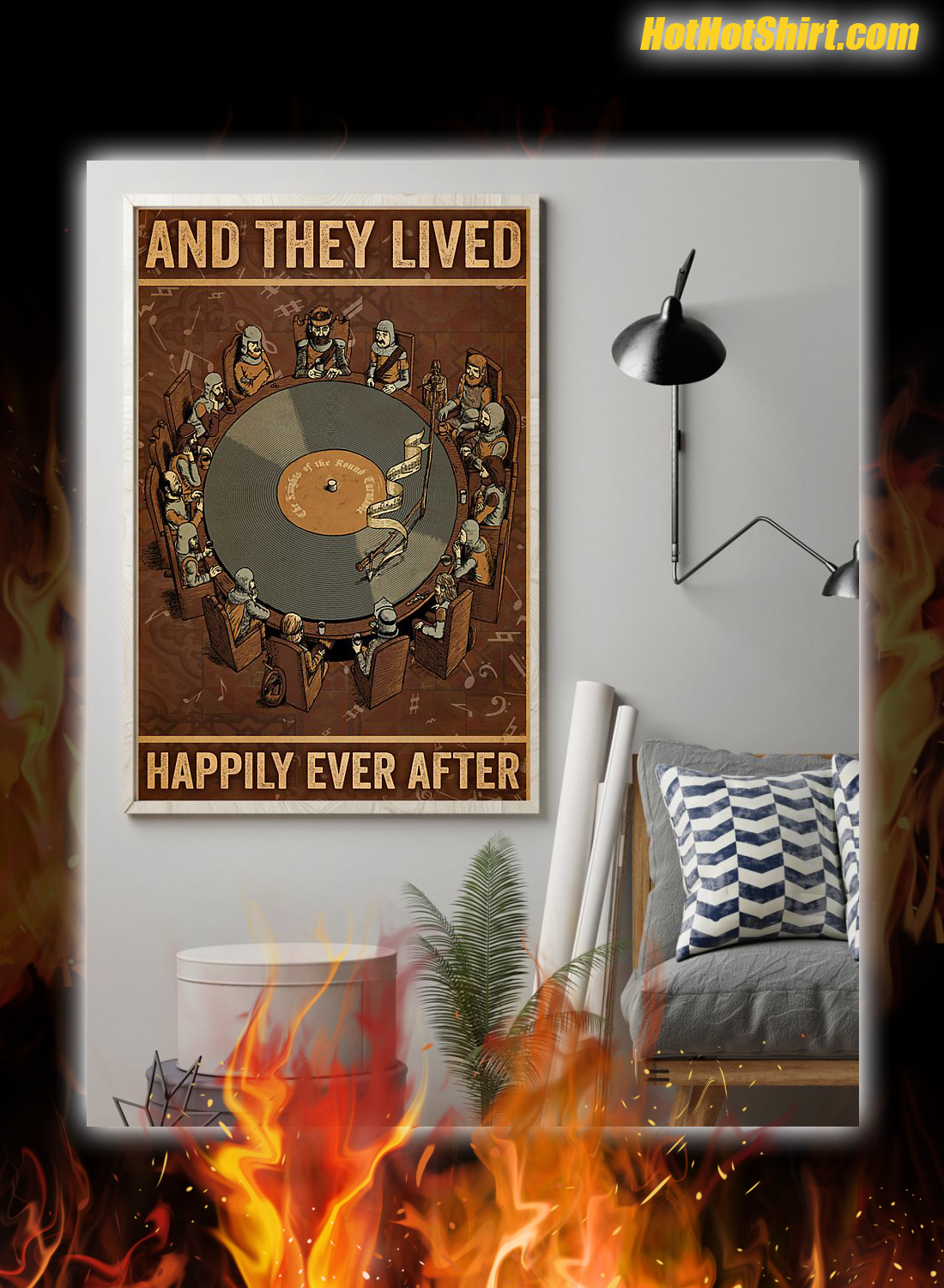 Vinyl And They Lived Happily Ever After Poster 1