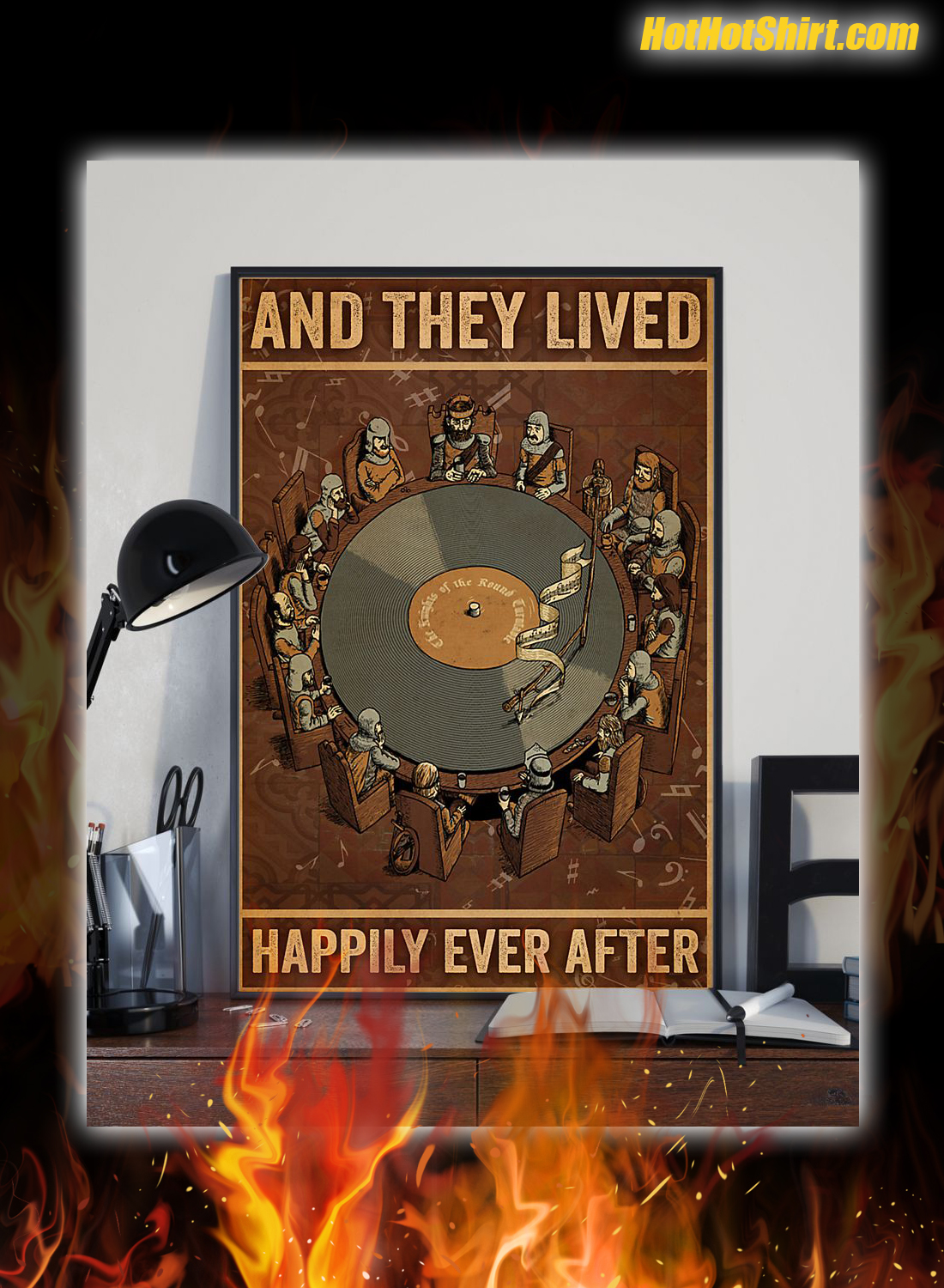 Vinyl And They Lived Happily Ever After Poster 2