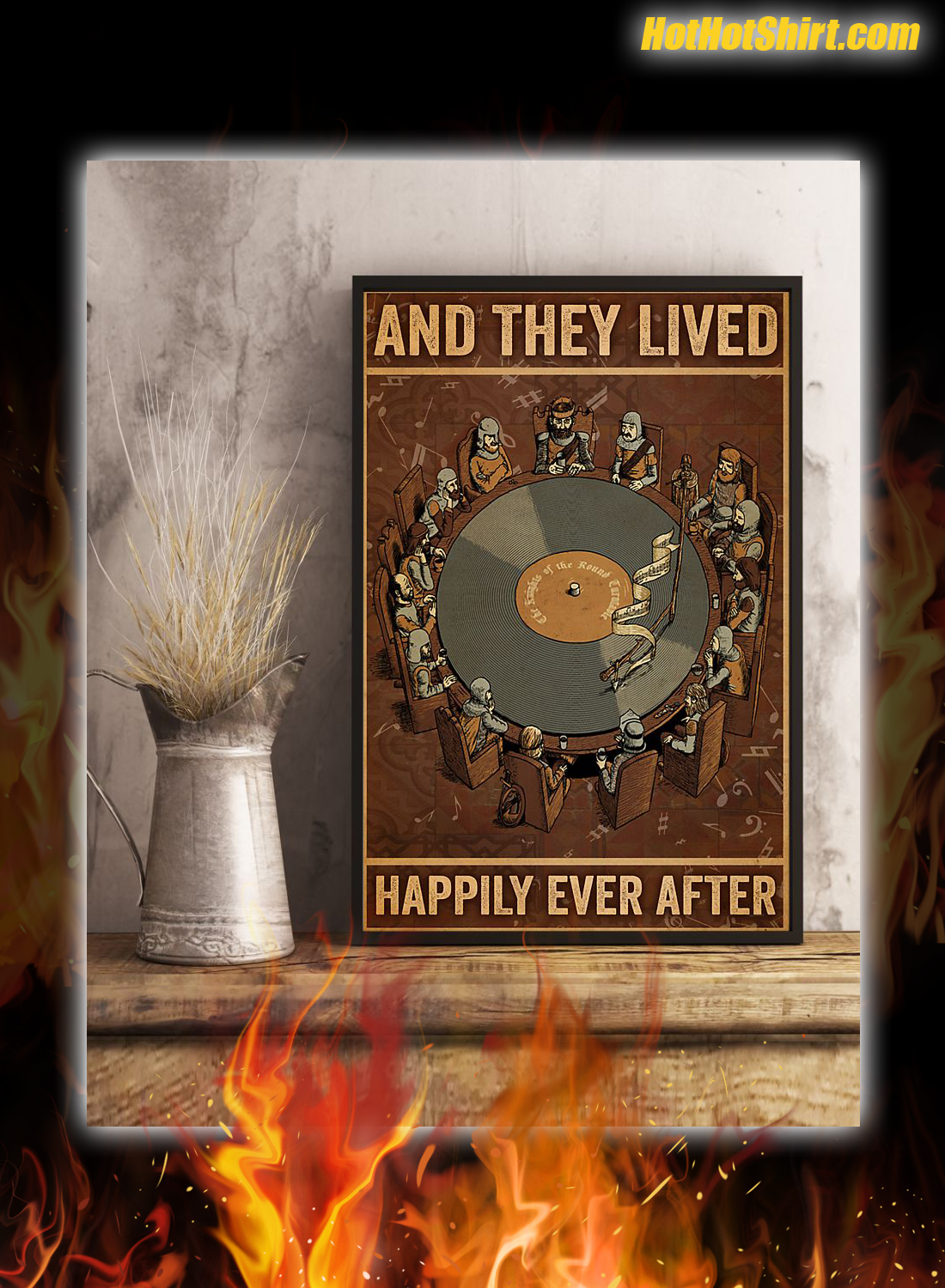 Vinyl And They Lived Happily Ever After Poster 3