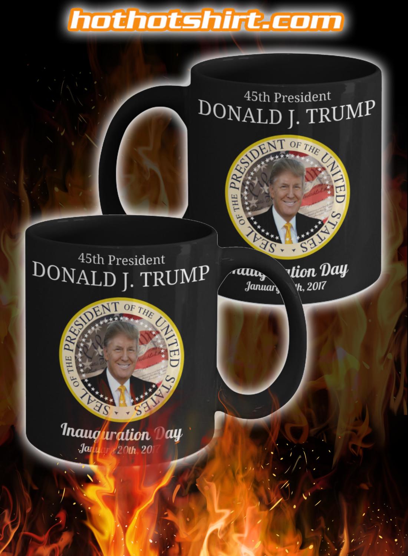 45th President Donald Trump Inauguration Day Mug