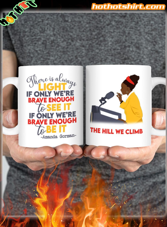 Amanda Gorman The Hill We Climb Mug