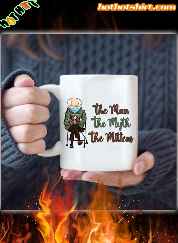 Bernie Sanders mittens meme the man the myth the mittens mug